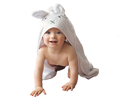 Awesome towel with cutest baby in the world