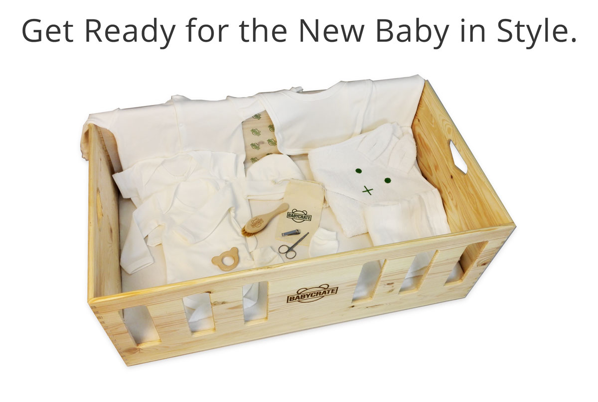 BabyCrate Baby Box from top